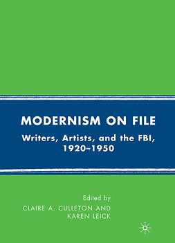Culleton, Claire A. - Modernism on File, ebook