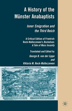 Lippe, George B. - A History of the Münster Anabaptists, ebook
