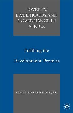 Hope, Kempe Ronald - Poverty, Livelihoods, and Governance in Africa, ebook
