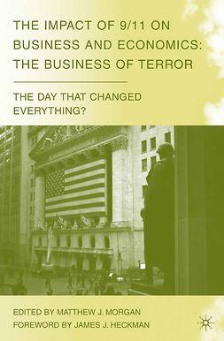 Morgan, Matthew J. - The Impact of 9/11 on Business and Economics, ebook