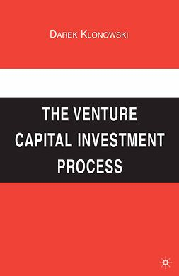 Klonowski, Darek - The Venture Capital Investment Process, e-kirja