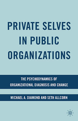 Allcorn, Seth - Private Selves in Public Organizations, ebook
