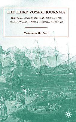 Barbour, Richmond - The Third Voyage Journals, e-kirja