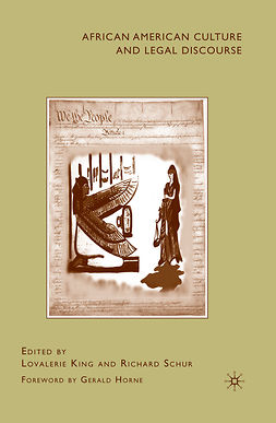 King, Lovalerie - African American Culture and Legal Discourse, ebook