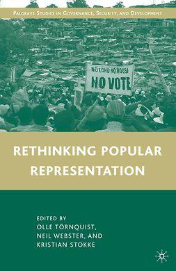 Stokke, Kristian - Rethinking Popular Representation, e-bok