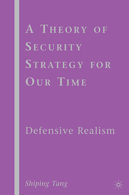 Tang, Shiping - A Theory of Security Strategy for Our Time, ebook