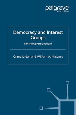 Jordan, Grant - Democracy and Interest Groups, e-bok