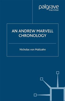 Maltzahn, Nicholas - An Andrew Marvell Chronology, ebook