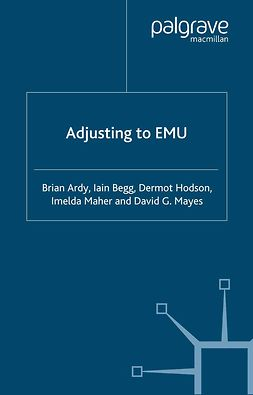 Ardy, Brian - Adjusting to EMU, ebook