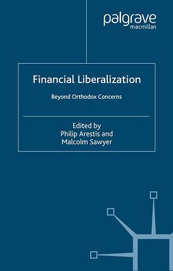 Arestis, Philip - Financial Liberalization, e-bok