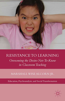 Alcorn, Marshall Wise - Resistance to Learning, e-kirja