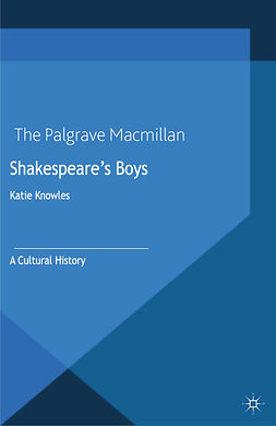 Knowles, Katie - Shakespeare's Boys, e-kirja