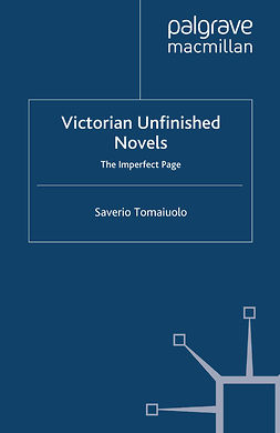 Tomaiuolo, Saverio - Victorian Unfinished Novels, e-kirja