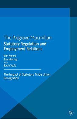 McKay, Sonia - Statutory Regulation and Employment Relations, ebook