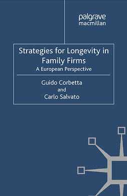 Corbetta, Guido - Strategies for Longevity in Family Firms, e-bok