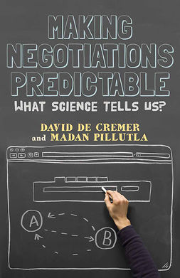 Cremer, David - Making Negotiations Predictable, ebook