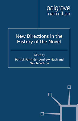 Nash, Andrew - New Directions in the History of the Novel, e-kirja