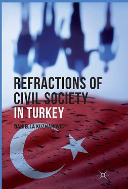 Kuzmanovic, Daniella - Refractions of Civil Society in Turkey, e-kirja