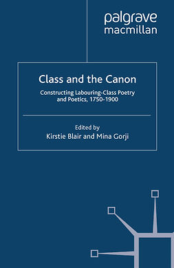 Blair, Kirstie - Class and the Canon, ebook