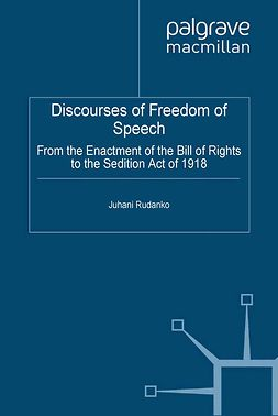 Rudanko, Juhani - Discourses of Freedom of Speech, ebook