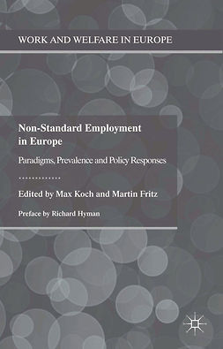 Fritz, Martin - Non-Standard Employment in Europe, ebook