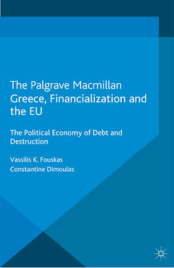 Dimoulas, Constantine - Greece, Financialization and the EU, ebook
