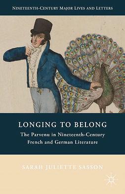 Sasson, Sarah Juliette - Longing to Belong, ebook