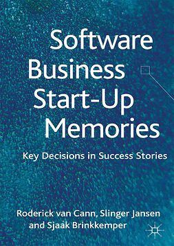 Brinkkemper, Sjaak - Software Business Start-up Memories, ebook