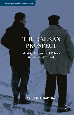 Calotychos, Vangelis - The Balkan Prospect, ebook