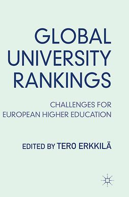 Erkkilä, Tero - Global University Rankings, ebook