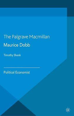 Shenk, Timothy - Maurice Dobb, ebook