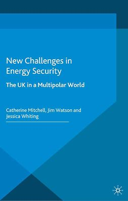 Mitchell, Catherine - New Challenges in Energy Security, e-bok