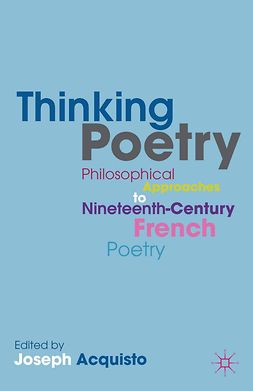 Acquisto, Joseph - Thinking Poetry, e-bok