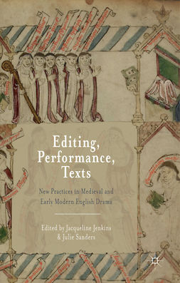 Jenkins, Jacqueline - Editing, Performance, Texts, e-bok