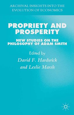 Hardwick, David F. - Propriety and Prosperity, ebook