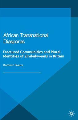 Pasura, Dominic - African Transnational Diasporas, e-kirja