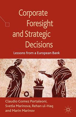 Marinov, Marin - Corporate Foresight and Strategic Decisions, ebook