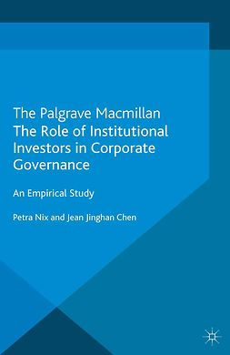 Chen, Jean Jinghan - The Role of Institutional Investors in Corporate Governance, ebook