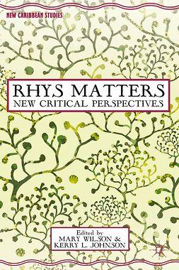 Johnson, Kerry L. - Rhys Matters, e-bok