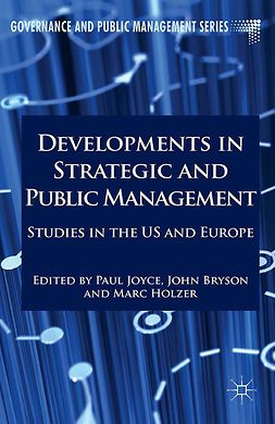 Bryson, John M. - Developments in Strategic and Public Management, e-bok