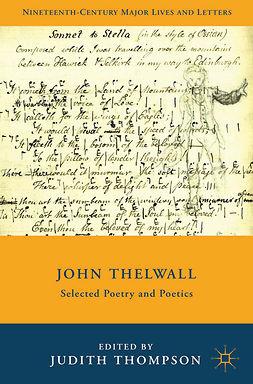 Thompson, Judith - John Thelwall, e-bok