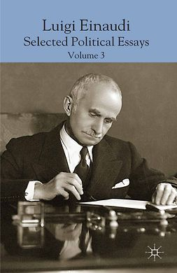Empoli, Domenico - Luigi Einaudi: Selected Political Essays, Volume 3, ebook