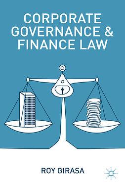 Girasa, Roy - Corporate Governance and Finance Law, e-bok