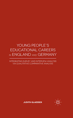 Glaesser, Judith - Young People's Educational Careers in England and Germany, ebook