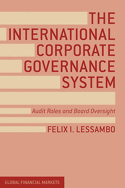 Lessambo, Felix I. - The International Corporate Governance System, ebook