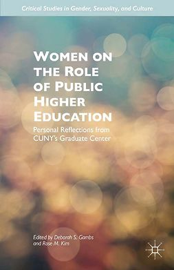 Gambs, Deborah S. - Women on the Role of Public Higher Education, ebook