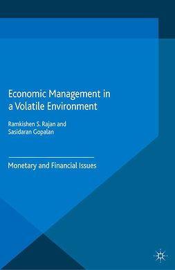 Gopalan, Sasidaran - Economic Management in a Volatile Environment, ebook