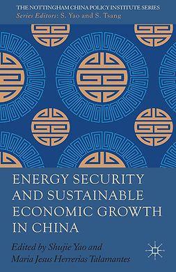 Herrerias, Maria Jesus - Energy Security and Sustainable Economic Growth in China, e-bok