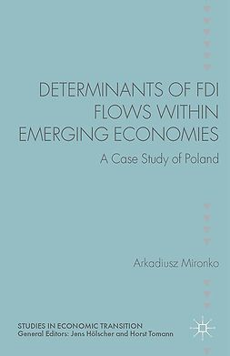Mironko, Arkadiusz - Determinants of FDI Flows within Emerging Economies, e-bok