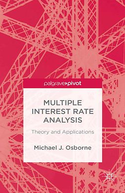 Osborne, Michael - Multiple Interest Rate Analysis: Theory and Applications, ebook